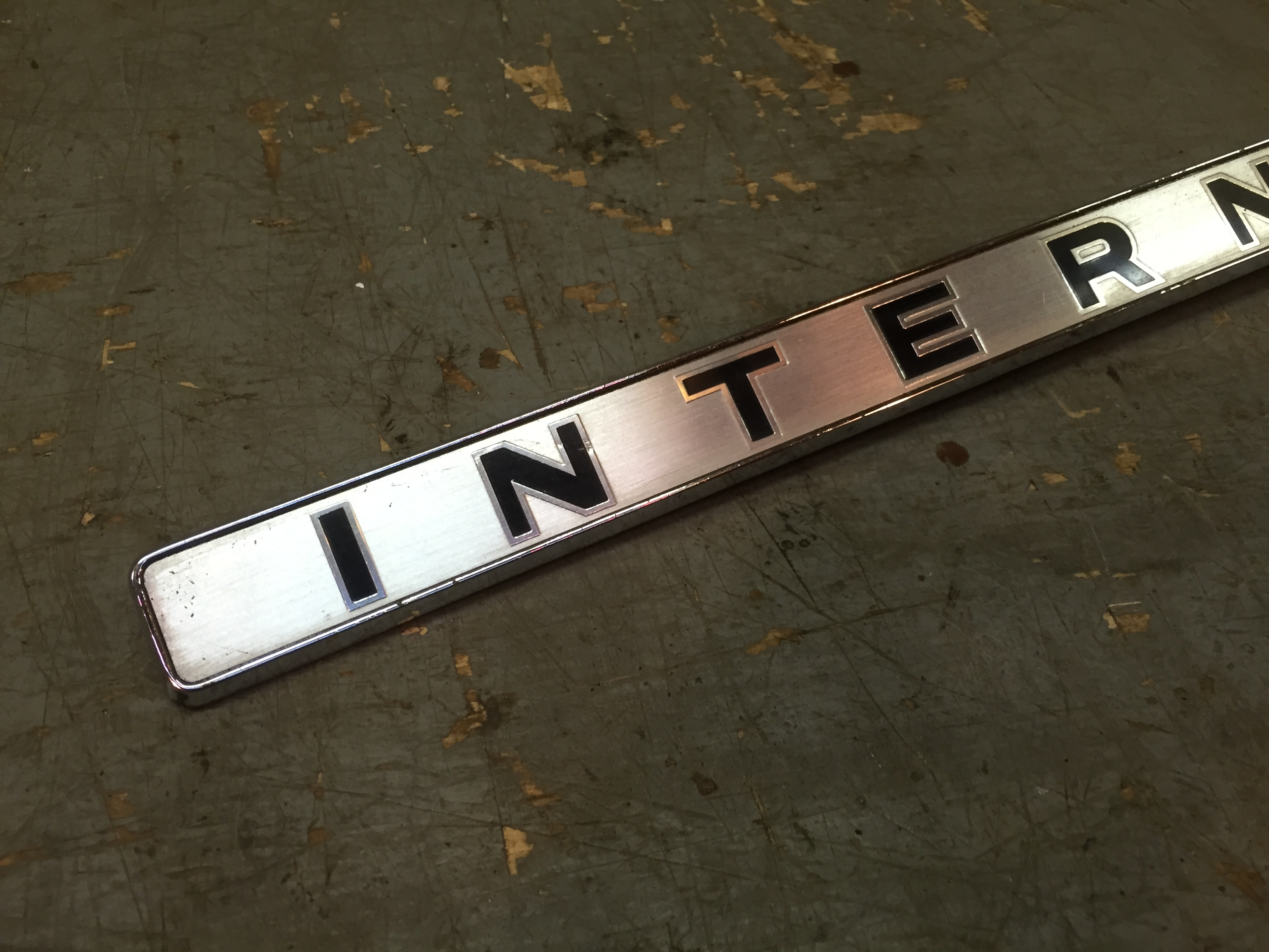 Ih International Truck Travelall 1967 68 Front Grille