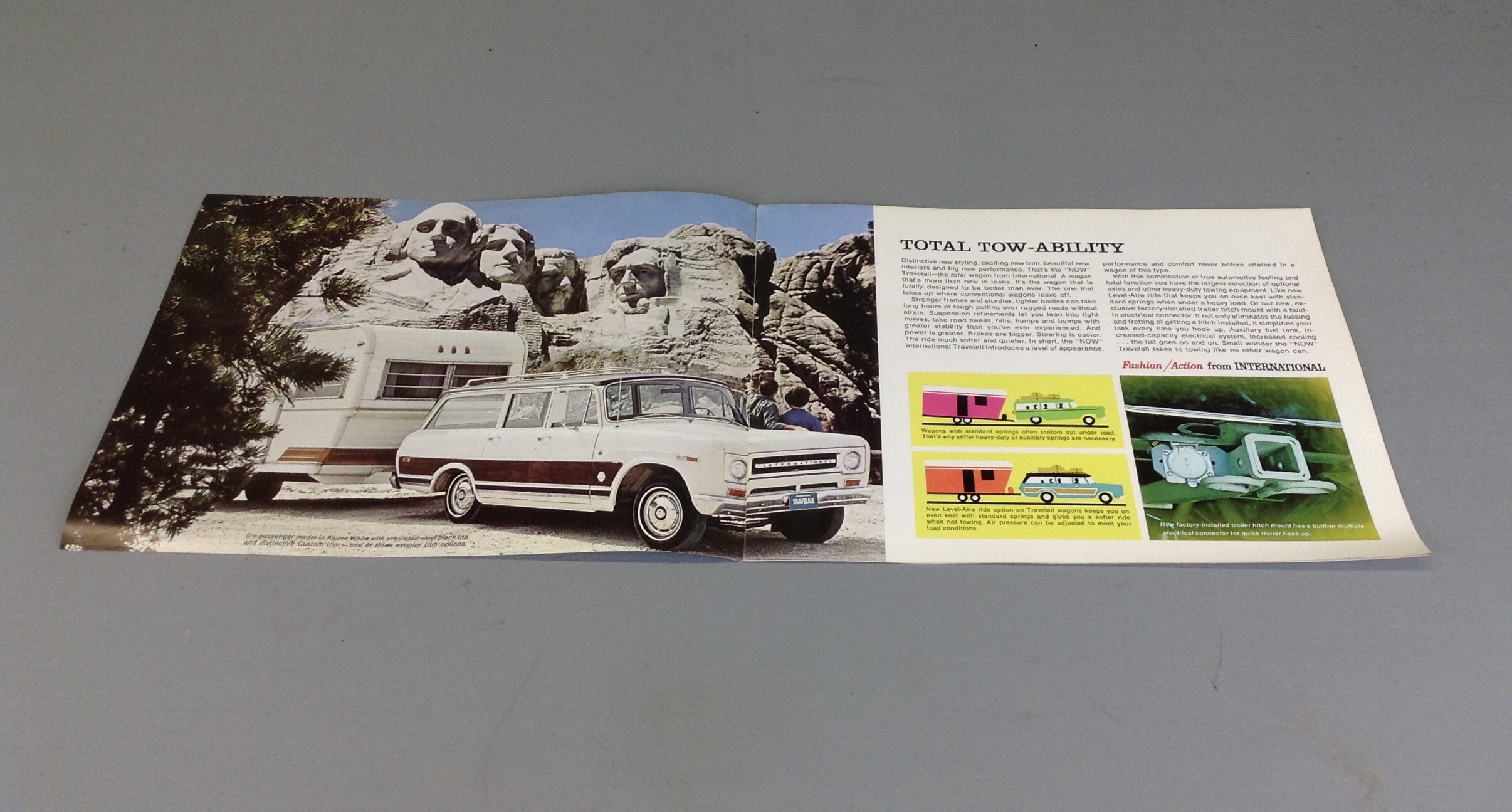 The Total Wagon Travelall Ad Ih Scout
