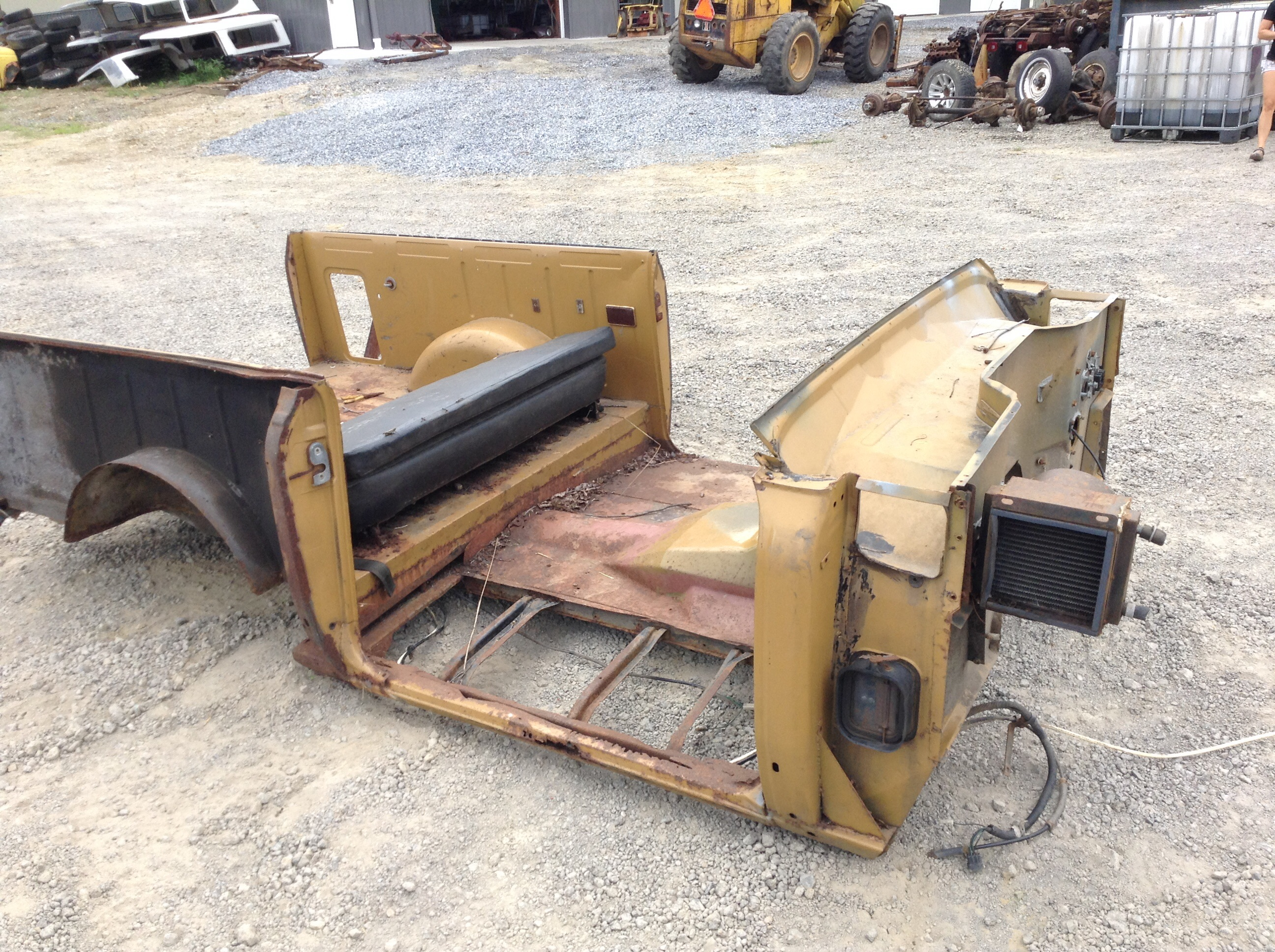 Body Tub Scout Ii 100 Quot Ih Scout