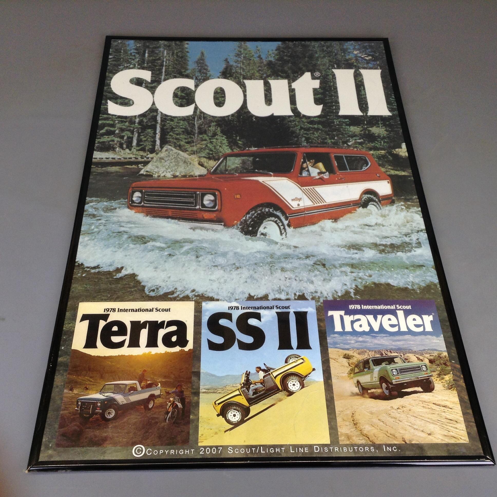 Scout II, Terra, Traveler, SSII Poster