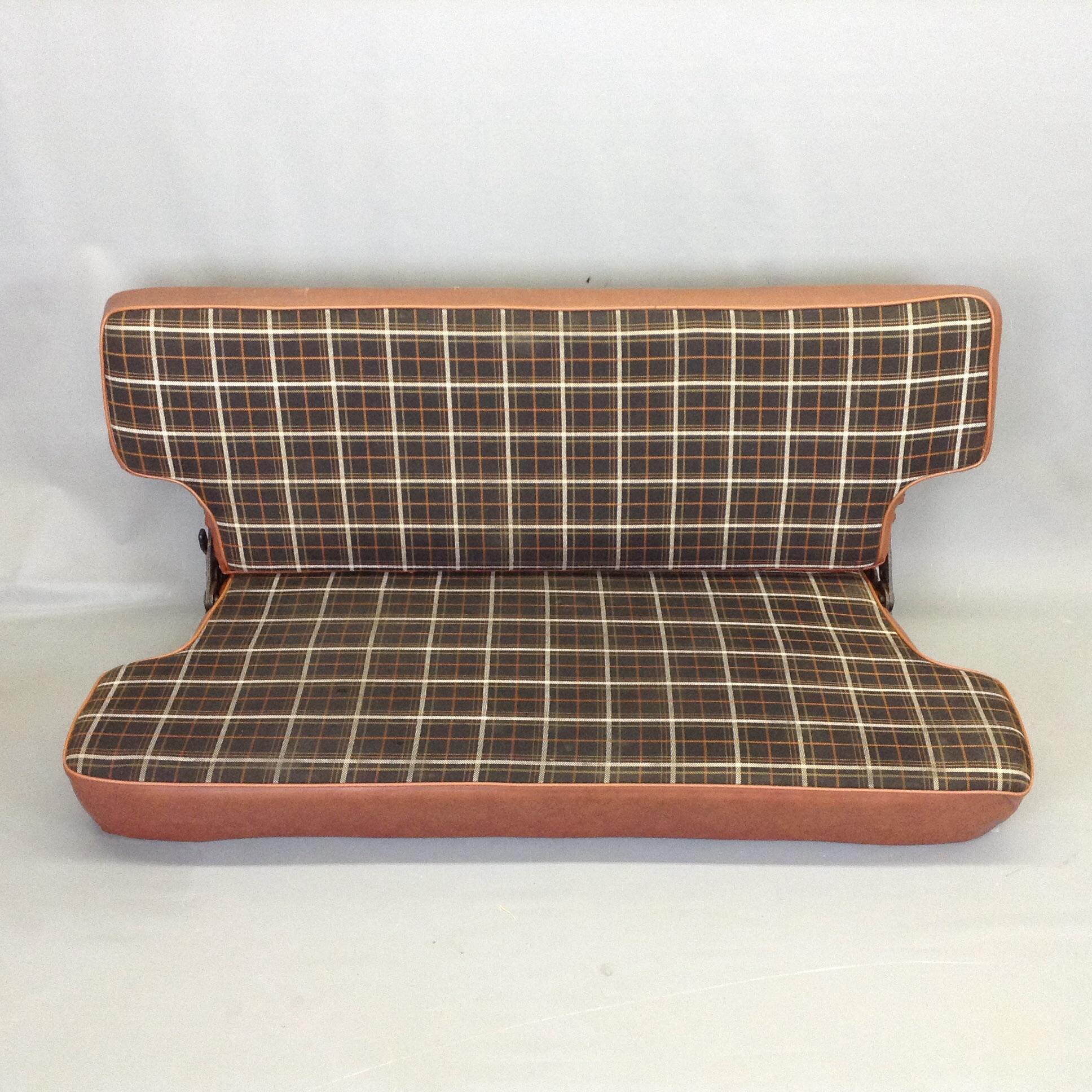 Pleasing Scout Ii Russett Plaid Rear Bench Seat Dailytribune Chair Design For Home Dailytribuneorg