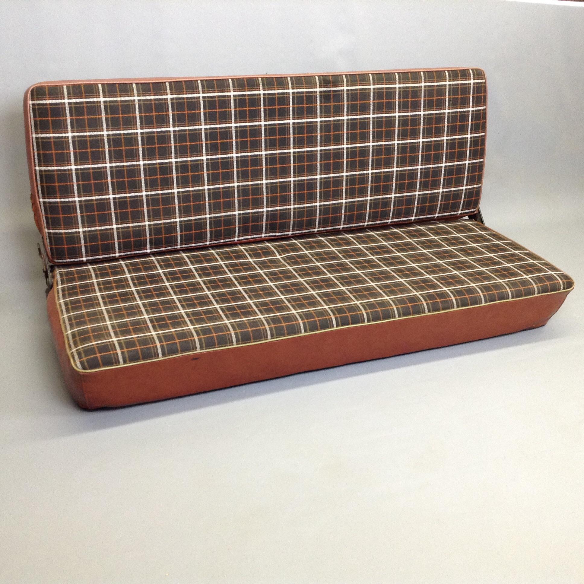 Stupendous Scout Traveler Russett Plaid Rear Bench Seat Dailytribune Chair Design For Home Dailytribuneorg
