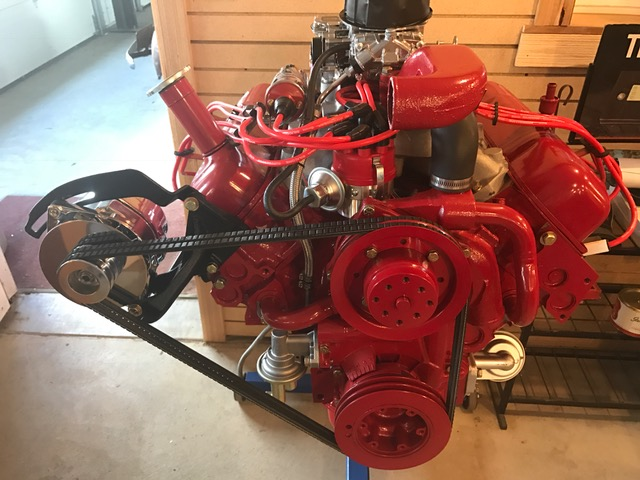 Remanufactured IH Engines - 152 or 196 4cyl and 304, 345, 392 V8