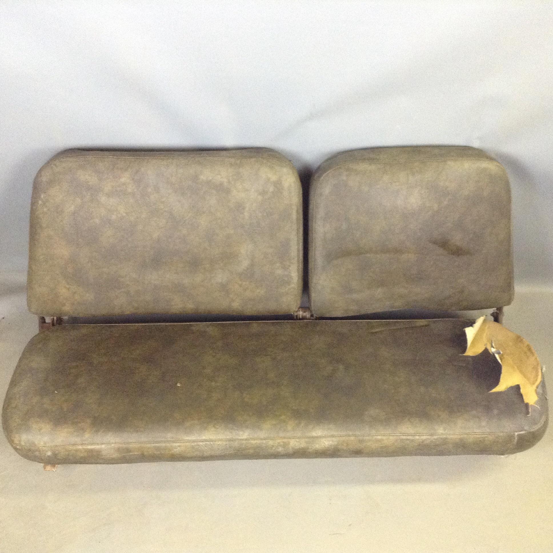 Terrific Scout Ii Dark Green Front Bench Seat Dailytribune Chair Design For Home Dailytribuneorg